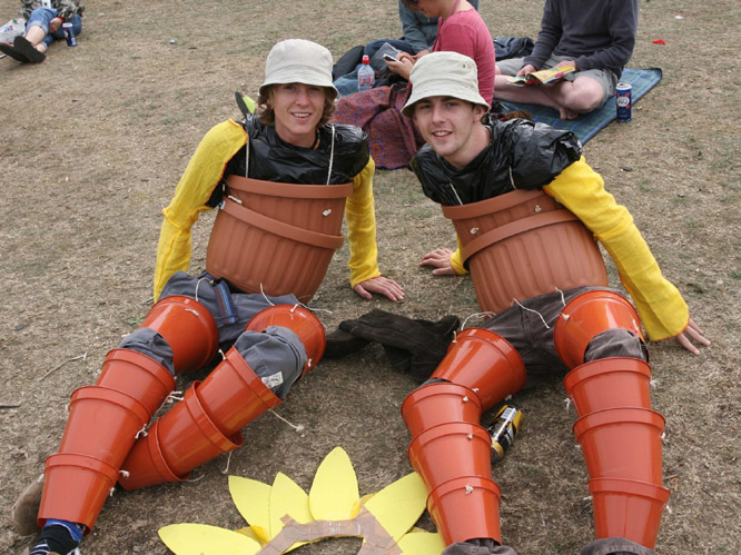Bestival fancy dress - 2006